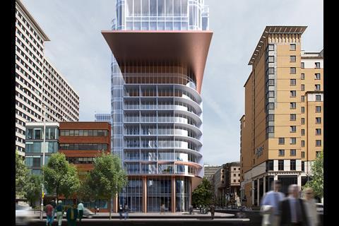 Croydon's CZWG tower